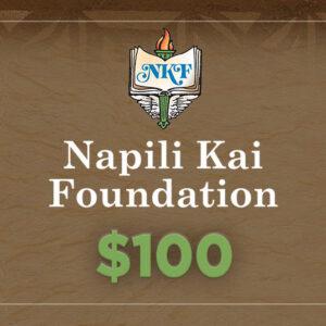NKF Donation $100