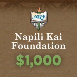 NKF Donation $1000