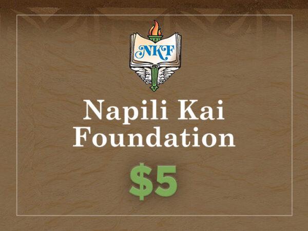 NKF Donation $5