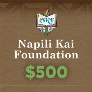 NKF Donation $500