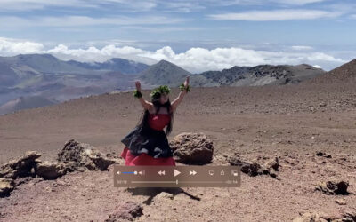 New video of Maui hula students on summit of Haleakala