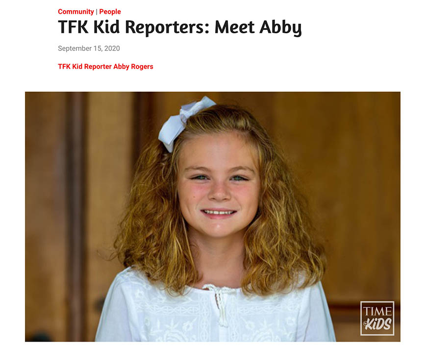 NKF Time for Kids Article